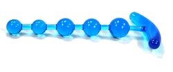Anchor's Away Anal Beads - Blue