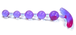 Anchor's Away Anal Beads - Lavender