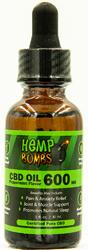 Hemp Bombs Oil 600mg Peppermint 1 Fl. Oz