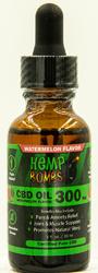 Hemp Bombs Oil 300mg Watermelon Kush 1 Fl. Oz.