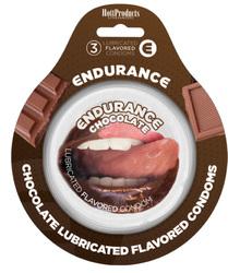 Endurance Condoms - Chocolate -3 Pack