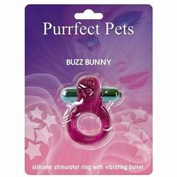 Purrfect Pet Buzz Bunny - Purple