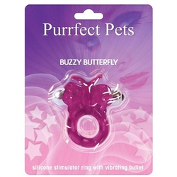 Purrfect Pet Buzzy Butterfly - Purple