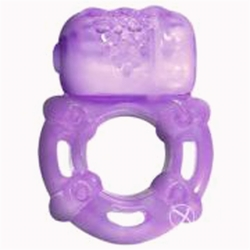 Super Stud Orgasmix Ring - Purple