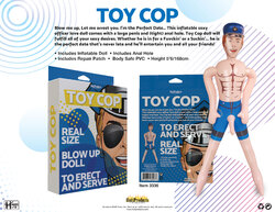 Cop - Inflatable Party Doll