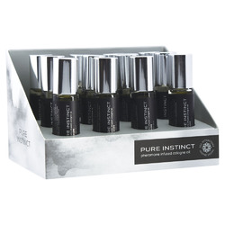 Pure Instinct Pheromone Cologne Oil for Him - 10.2ml 12 Pc Display Set