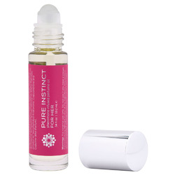 Pure Instinct Pheromone Perfume Oil for Her - Roll on 10.2 ml | 0.34 Fl. Oz