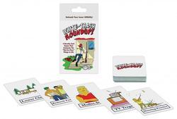 Whitetrash Roundup! Card Game