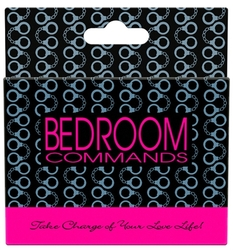 Bedroom Commands - Card Game