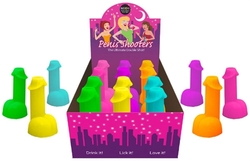 Neon Penis Shooters - 12 Piece Display