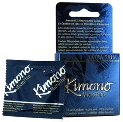 Kimono Microthin Ultra Thin - 3 Pack