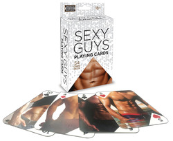 Sexy Guys Playing Cards 54 Card Deck