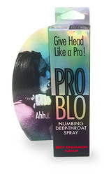 Problo Numbing Deep-Throat Spray - Sexy Cinnamon 1 Fl Oz 29ml