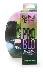 Problo Numbing Deep Throat Spray - Refreshing Mint 1 Fl Oz 29ml