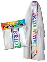Bride Pride Veil