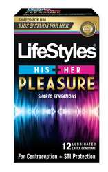 Lifestyle His + Her Pleasure 12 Pk