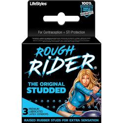 Rough Rider - Original Studded - 3 Pack