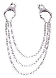 Affix Triple Chain Nipple Clamps