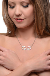 Cuff Her Handcuff Necklace