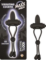 Maxx Men Vibrating Cocktie - Black