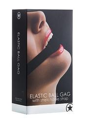 Elastic Ball Gag- Black
