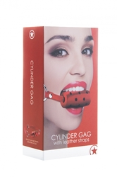 Cylinder Gag - Red