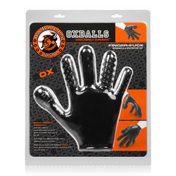 Finger- Fuck Reversible Jo & Penetration Toy -  Black