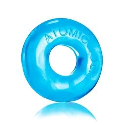 Do-Nut-2 Large Atomic Jock Cockring - Ice Blue