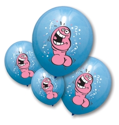Pecker Balloons - 6 Pack