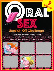 Oral Sex Scratch Off Challenge