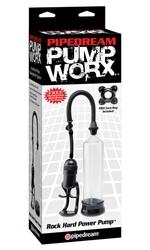 Pump Worx Rock Hard Power Pump - Black