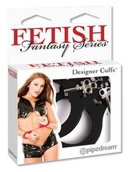 Fetish Fantasy Series Designer Metal  Handcuffs - Black
