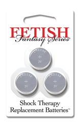 Fetish Fantasy Series Shock Therapy Replacment Batteries - 3 Pack