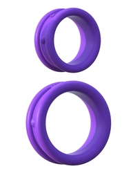 Fantasy C-Ring Maxx Width Silicone Rings - Purple