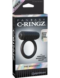 Fantasy C-Ringz the Wingman - Black