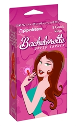 Bachelorette Party Favors 8 Candy Rings