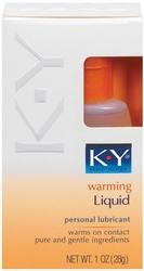 K-Y Warming Liquid 2.5 Oz Bottle