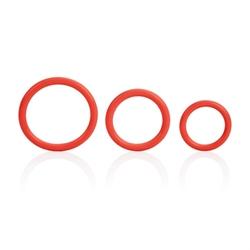 Tri-Rings - Red