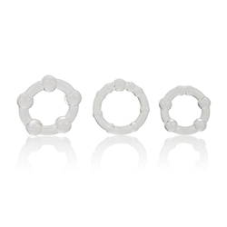 Island Rings - Clear