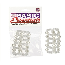 Basic Pearl Stroker Beads - Large