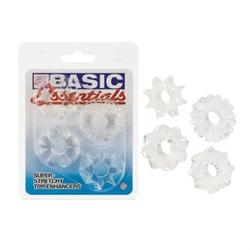 Basic Essentials 4 Pack - Clear