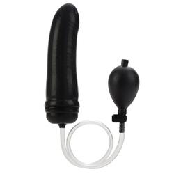 Colt Hefty Probe Inflantatable Butt Plug - Black