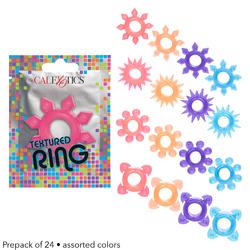 Foil Pack Textured Ring  - Prepack of 24