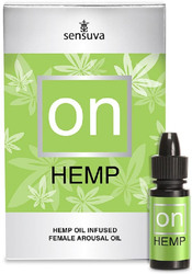 On for Her Hemp Infused Arousal Oil 5 ml