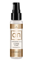 On Arousal Gel Coffee Cake 1 Fl. Oz. Bottle