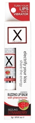 X on the Lips Lip Balm - Sizzling Strawberry - .75 Oz.