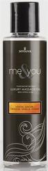 Me and You Massage Oil - Lemon Ginger Orange Vanilla Sugar - 4.2 Oz.