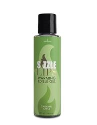 Sizzle Lips Warming Edible Gel - Caramel Apple - 4.2 Oz.
