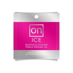 On Ice Buzzing & Cooling Female Arousal Oil - 0.01 Oz. Ampoule