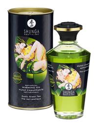 Aphrodisiac Organica Warming Oil - Exotic Green Tea